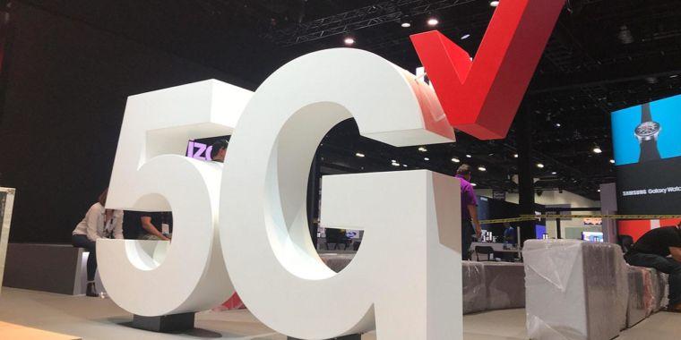 Verizon là một trong ba nhà mạng cung cấp 5G tại Mỹ.