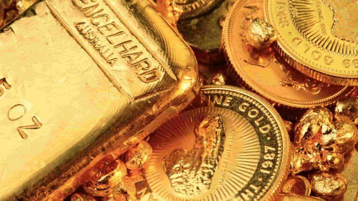 Giá vàng thế giới xuống thấp nhất trong 4 tháng