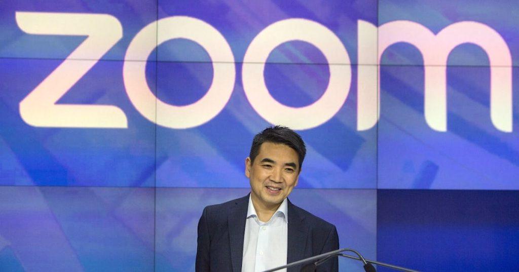 Giá trị tài sản của nhà sáng lập Zoom giảm 3,1 tỷ USD sau khi giá cổ phiếu giảm