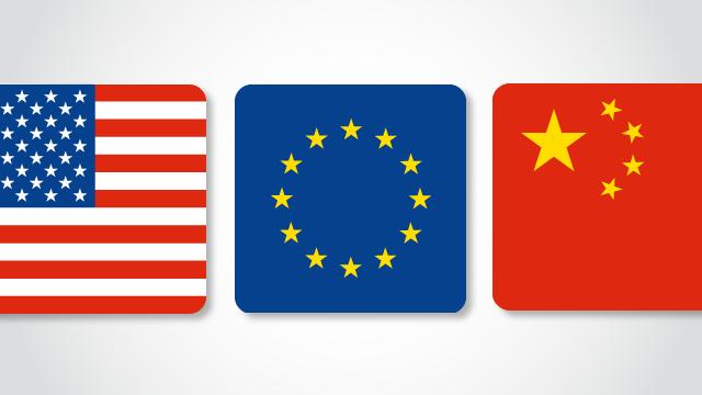 Trung Quốc vượt Mỹ trở thành đối tác thương mại lớn nhất của Châu Âu trong quý 3/2020