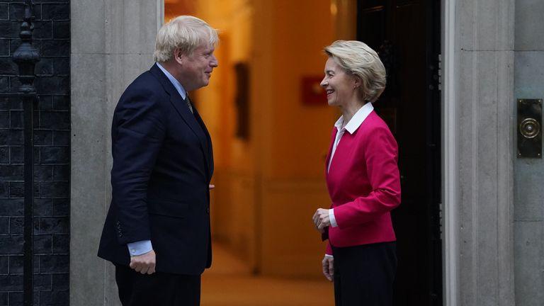 Thủ tướng Anh tới Bỉ nhằm thúc đẩy thỏa thuận thương mại hậu Brexit