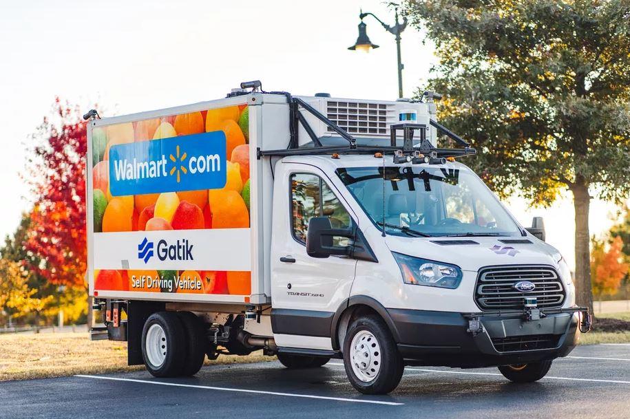 Walmart sẽ sử dụng xe tải không người lái để giao hàng vào năm 2021