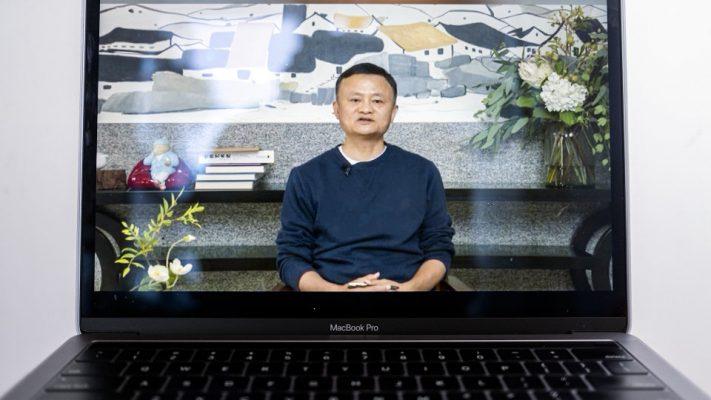 Jack Ma xuất hiện trở lại sau hơn 3 tháng, cổ phiếu Alibaba tăng mạnh