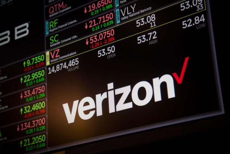 cổ phiếu Verizon