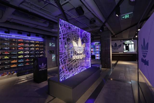 Doanh số Adidas ở Trung Quốc