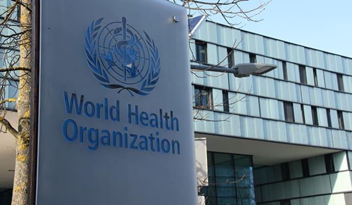 Trụ sở WHO tại Geneva, Thụy Sĩ, hồi tháng 5/2020. Ảnh:Reuters.